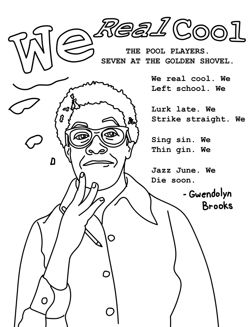 Gwendolyn Brooks Coloring Page 1 - bria royal - white bg.png