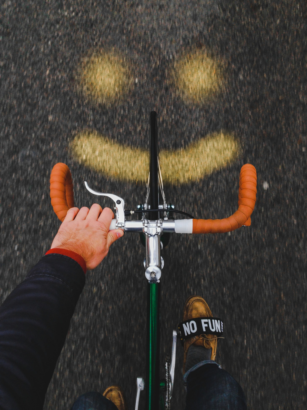 bicycle smile.