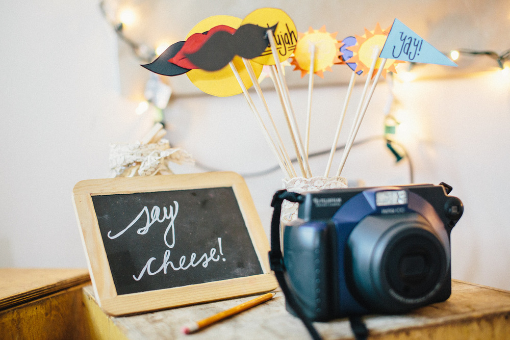 Wedding Photobooth With Instax instant camera