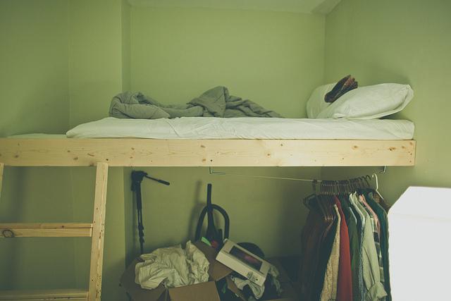 L.O.F.T.B.E.D my room is still messy, but this is the bed I now sleep on. come sleepover!