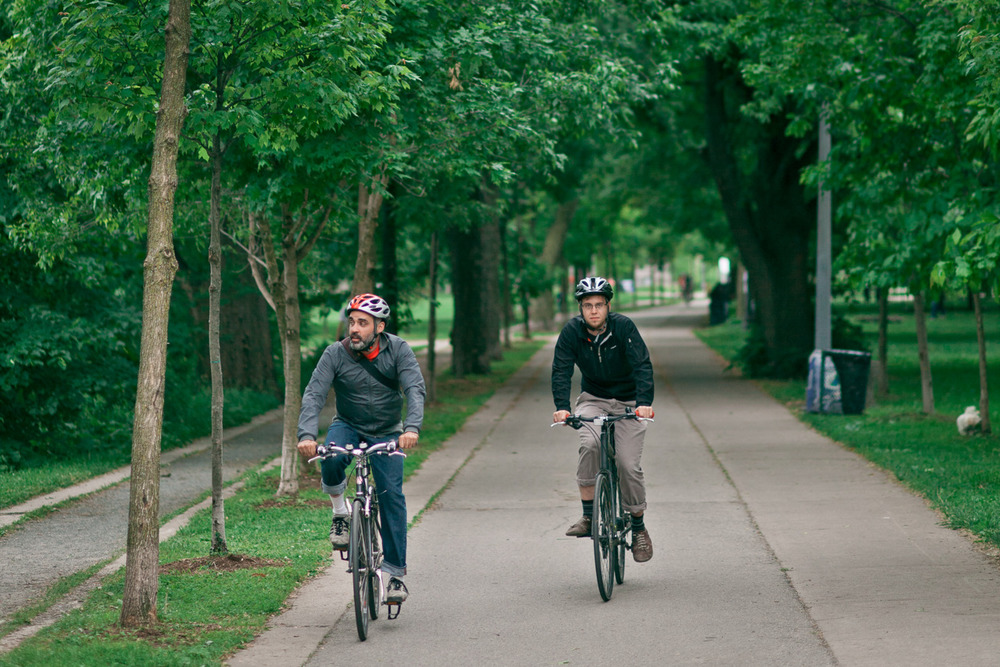 These are some folks biking. -Zach EOS 5D mark II 85mm 1.8
