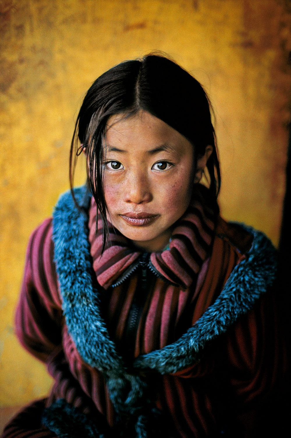 Xigaze, Tibet, 2001. ©Steve McCurry