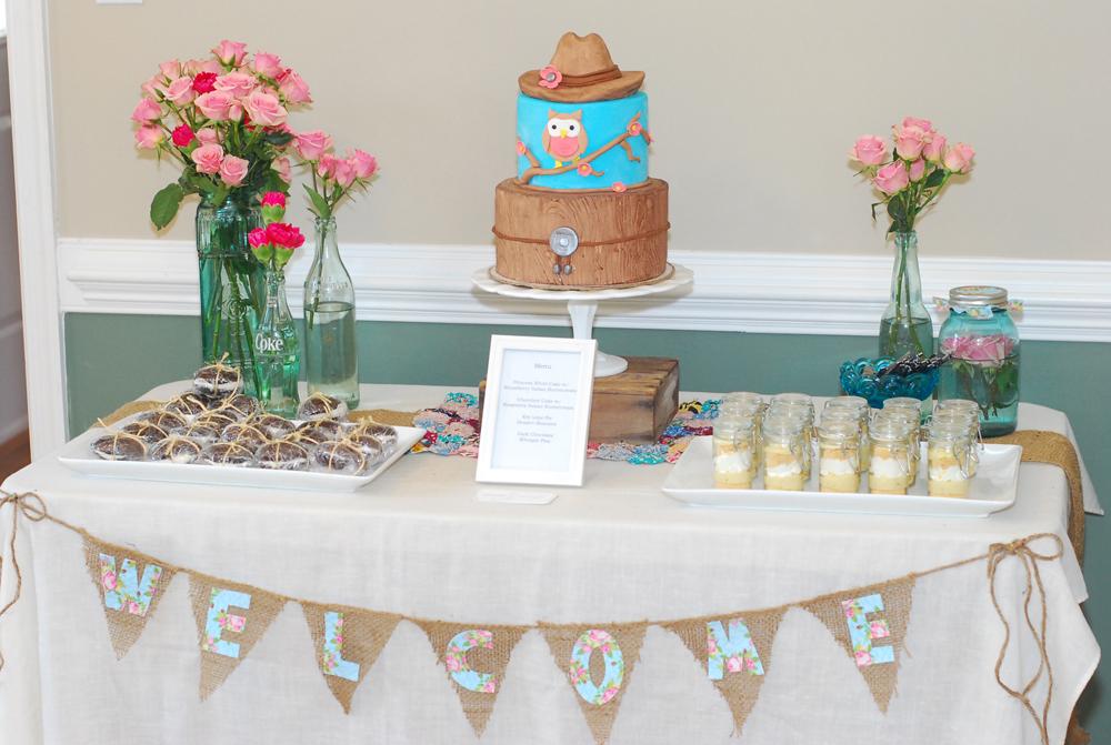 Cowboy Cake Dessert Table