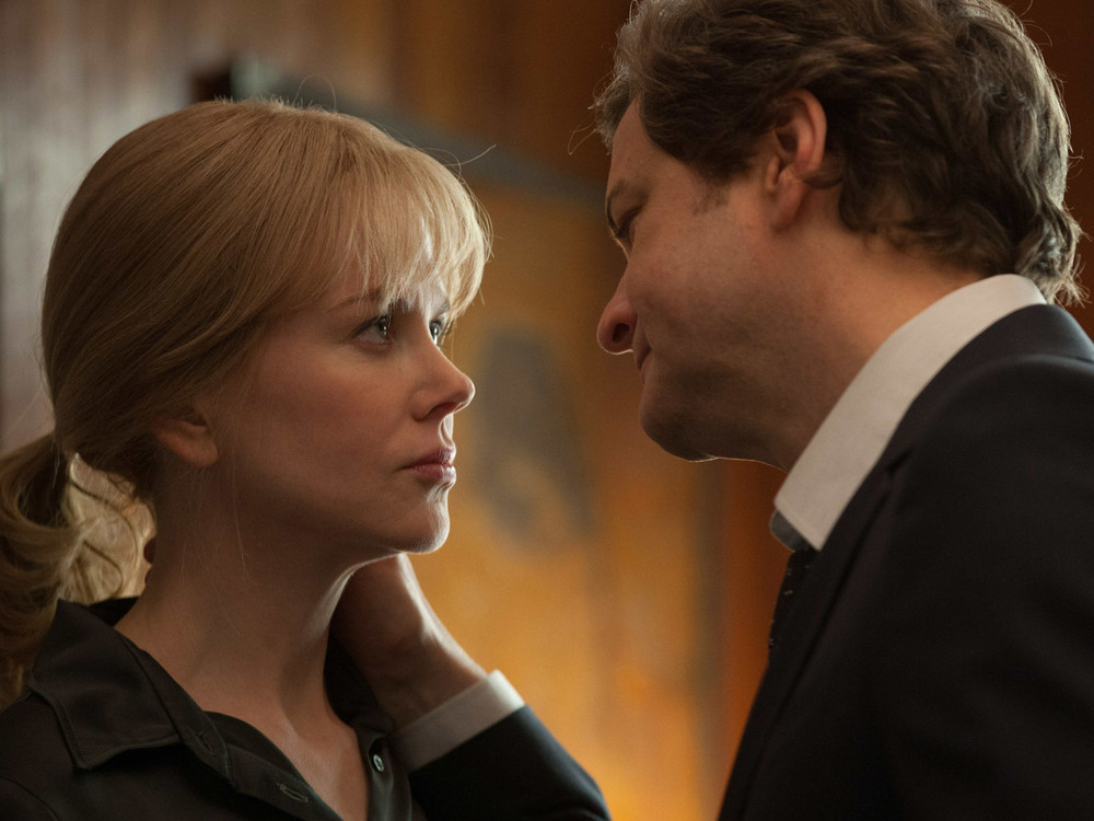 Colin Firth and Nicole Kidman in Before I Go to Sleep
