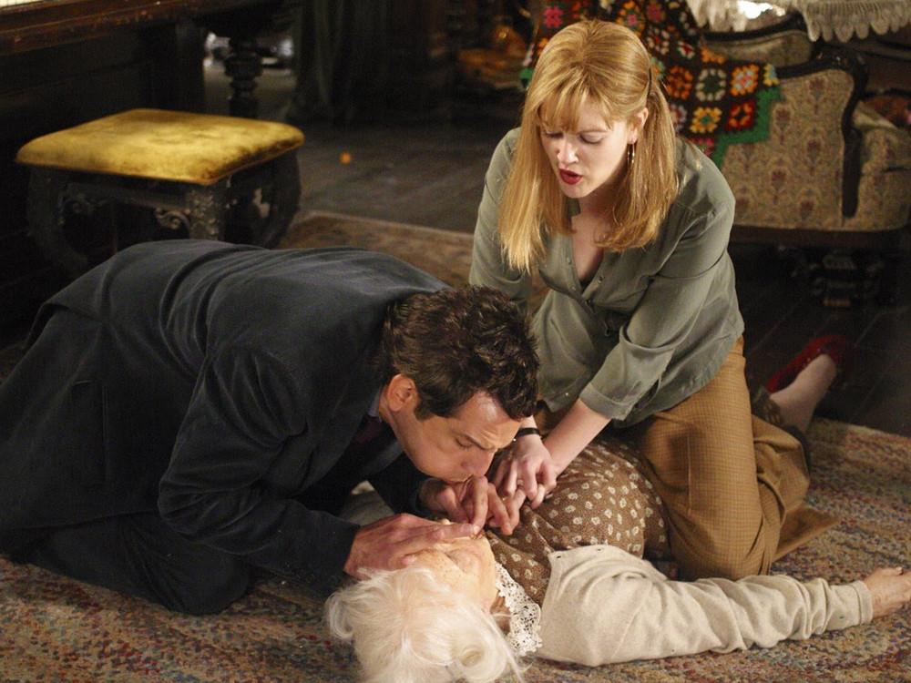 Ben Stiller and Drew Barrymore in Duplex