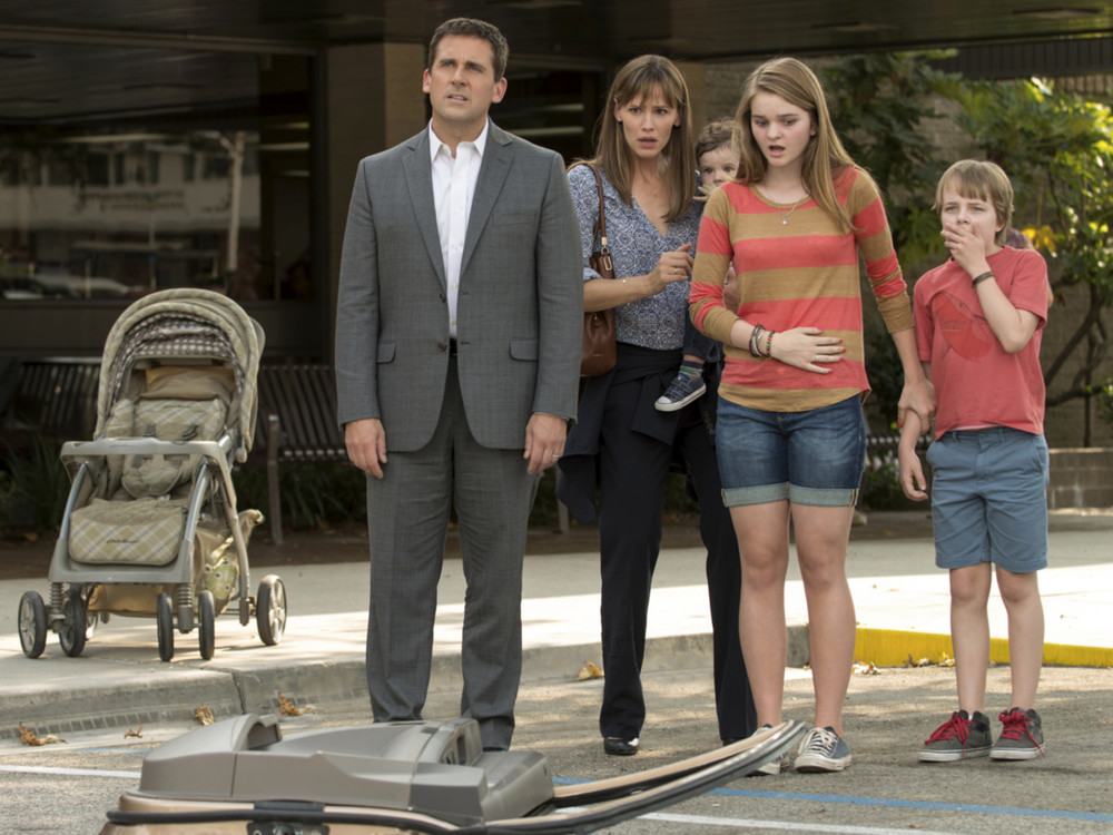 Steve Carell and Jennifer Garner in Alexander and the Terrible Horrible No Good Very Bad Day