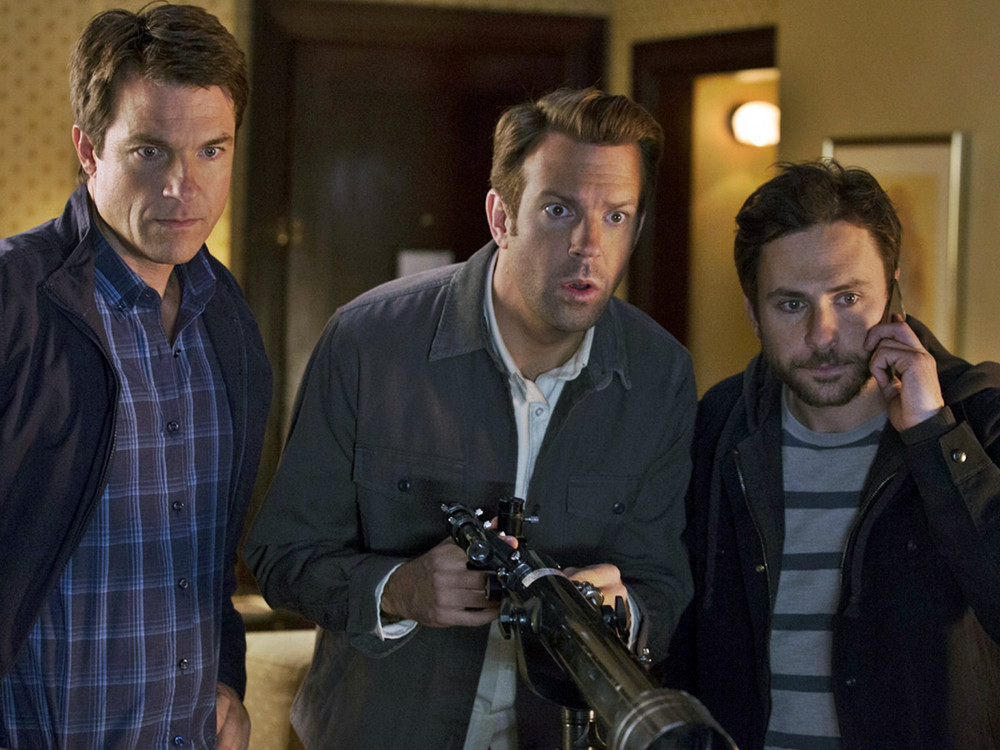 Jason Bateman, Charlie Day and Jason Sudeikis in Horrible Bosses 2