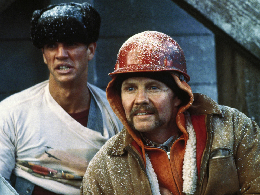 Jon Voight and Eric Roberts in Runaway Train