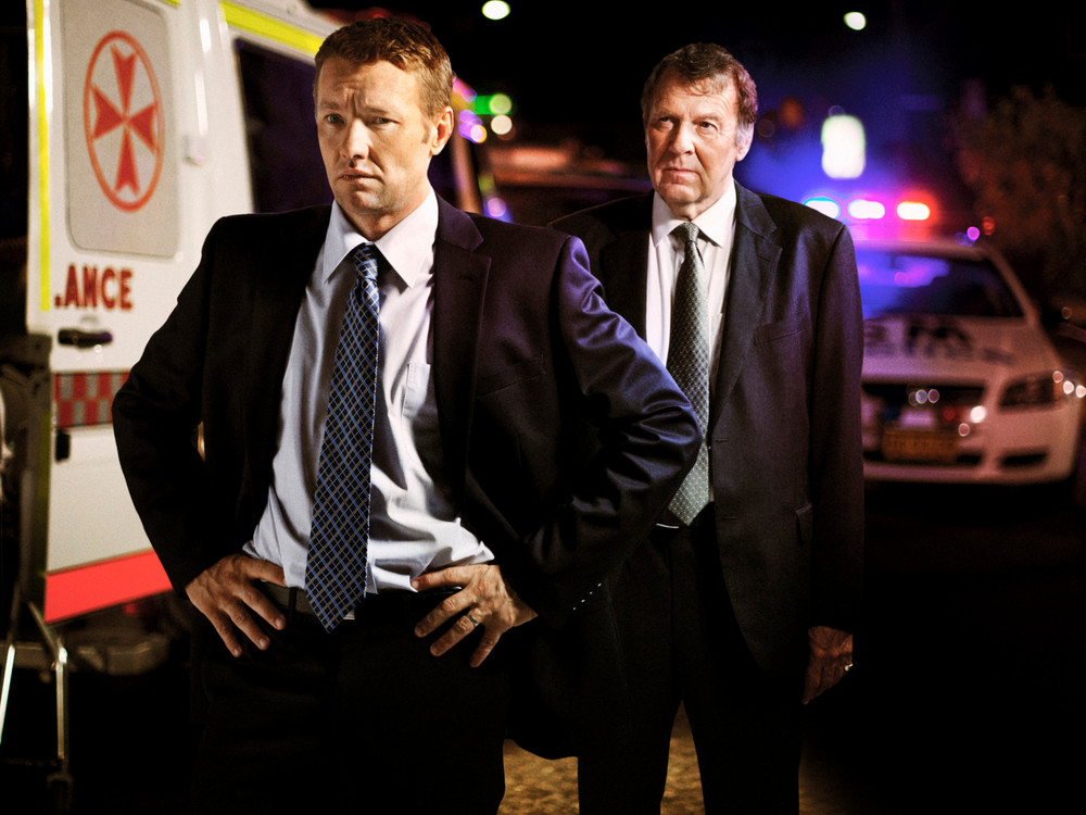 Joel Edgerton and Tom Wilkinson in Felony