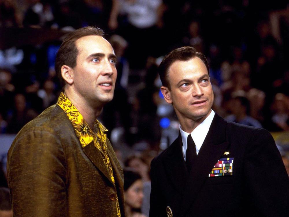 Nicolas Cage and Gary Sinise in Snake Eyes