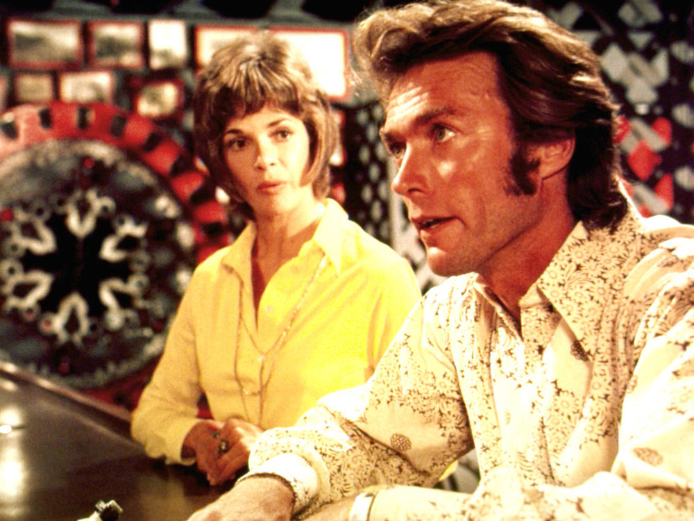Clint Eastwood and Jessica Walter in Play Misty for Me