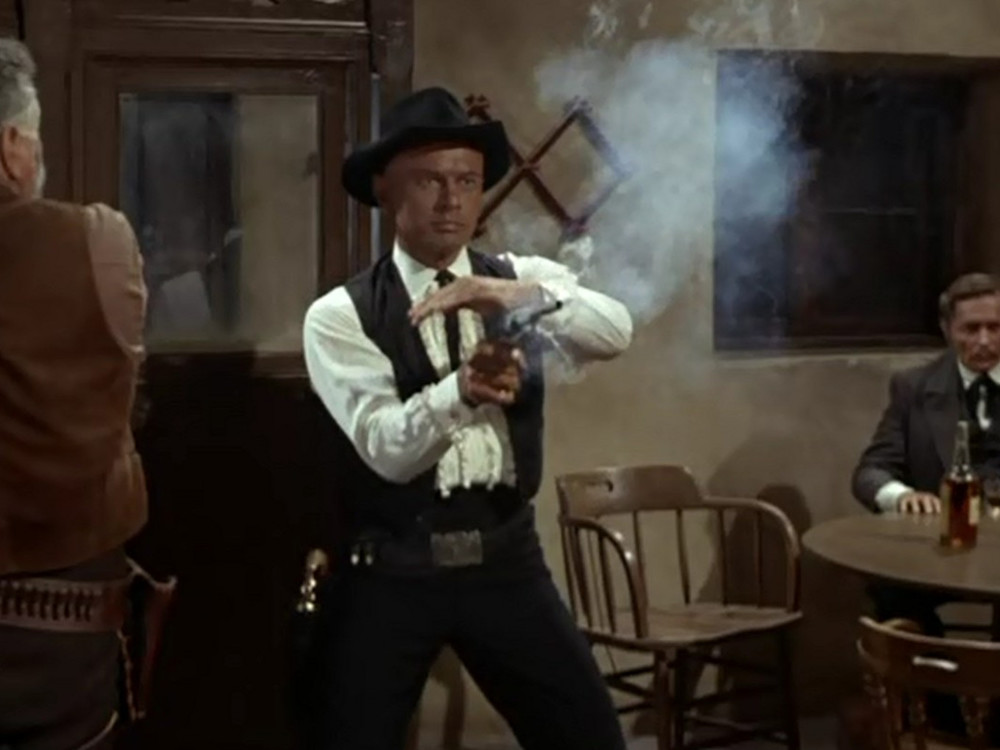 Yul Brynner in Invitation to a Gunfighter