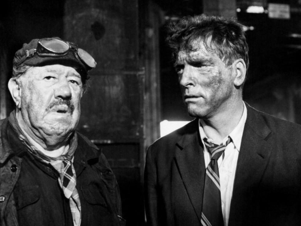 Burt Lancaster in The Train