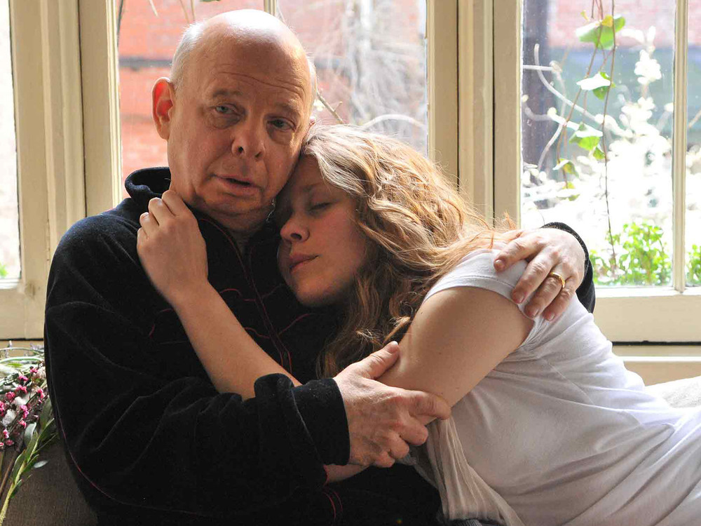 Wallace Shawn and Lisa Joyce in A Master Builder