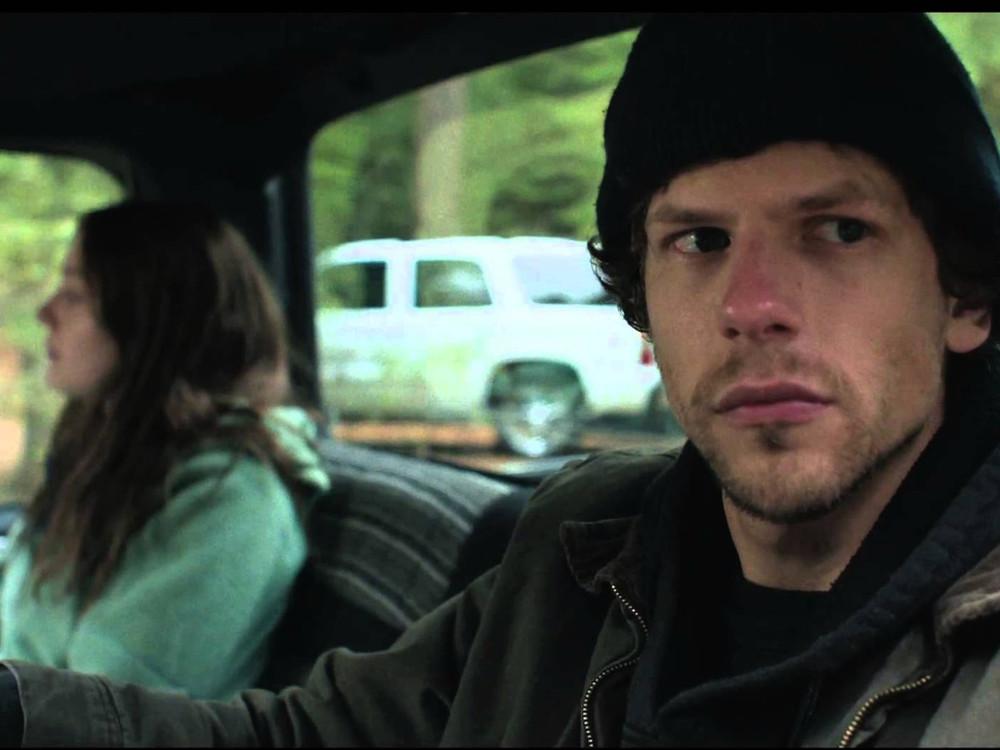 Jesse Eisenberg and Dakota Fanning in Night Moves