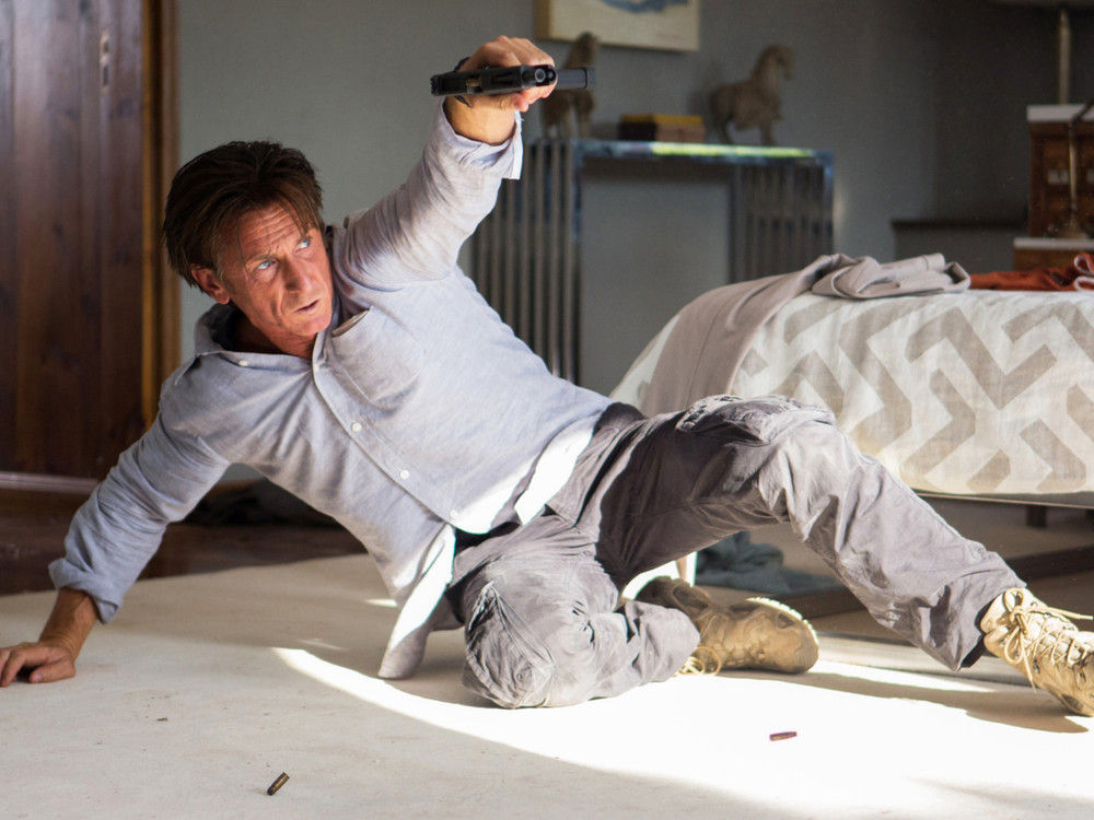 Sean Penn in The Gunman