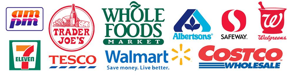 Major Retailers