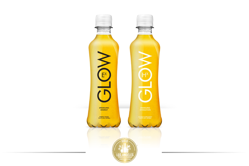 Glow Beverages   Best Energy Mixer 2016  LA International Spirits Competition