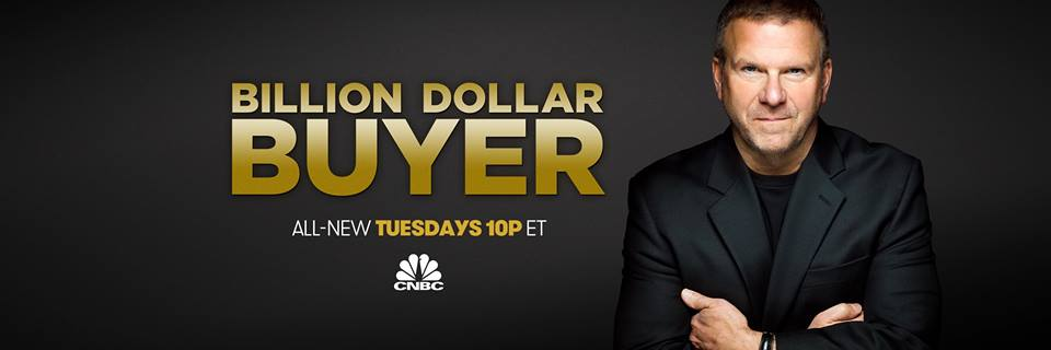 We joined an incredible lineup of businesses on this upcoming season's of Billion Dollar Buyer!                                            Click to see our trailer and watch our episode January 3rd! Click