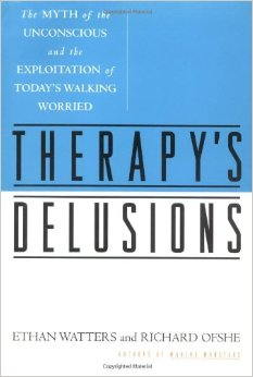 """A pull-no-punches assault on the current practice of psychotherapy. While Freud is debunked and talk therapy denounced (even trounced), the real target of this sometimes strident attack is the mental health profession itself. A forceful demand that the mental health profession reform itself. Controversy is sure to follow.""  -Kirkus Reviews"