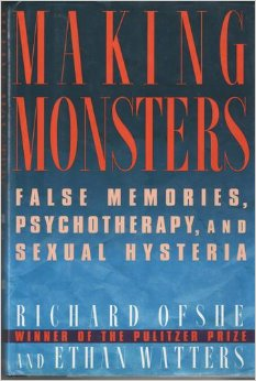 """""""The descriptions [the] authors give of the 'therapeutic' practices by which memories are recovered are a frightening indictment of at least some members of the burgeoning therapy industry, of its heads-I-win and tails-you-lose approach to moral rectitude, and of its capacities for self- delusion."""" -The Washington Post"""