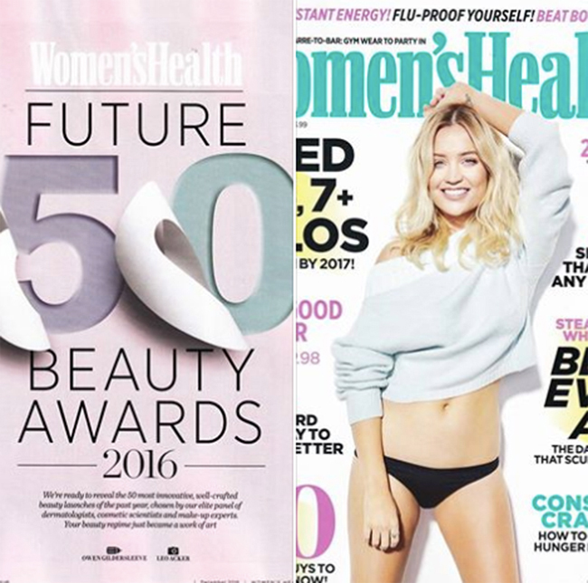 Lisa Franklin awarded 'Best Primer' by Women's Health magazine 2016