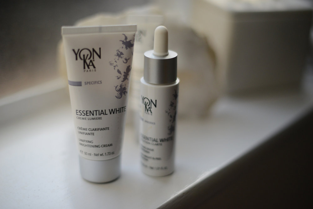 Yon-Ka products at the Lisa Franklin skincare clinic