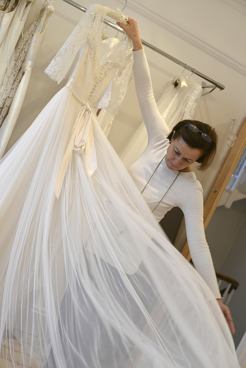 louise selby wedding dress designer