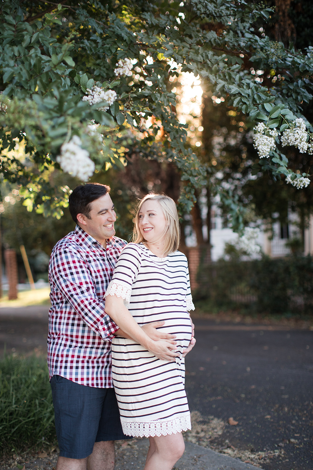 Charlotte Maternity Photography - Tom and Jennifer