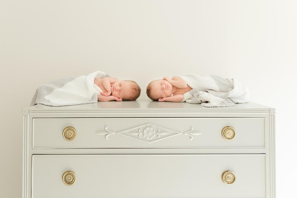 Charlotte Newborn Photography - Phoebe and Matilda