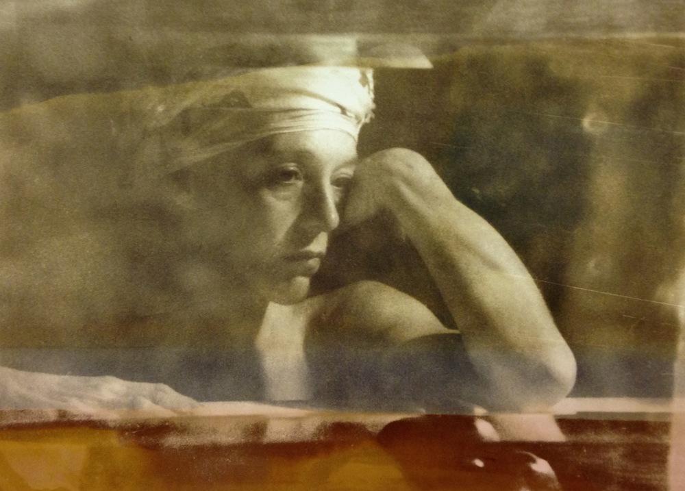 Susan , 1995  Gelatin silver photograph.  14 3/4 x 20 1/2 inches