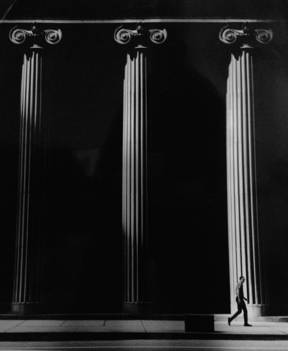 Continental Bank , Chicago, 1967  Gelatin silver photograph.   14 5/16 x 12 9/16 inches
