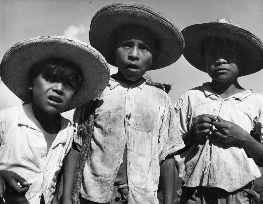 Boys of Tamazunchale , 1948  Gelatin silver photograph on mount.  10 x 13 3/8 inches
