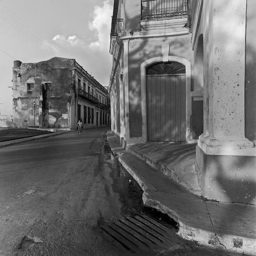 """""""Amanecer en Matanzas"""", Cuba , 1999-2000  Silver gelatin print.  11 x 14 inches(paper)"""