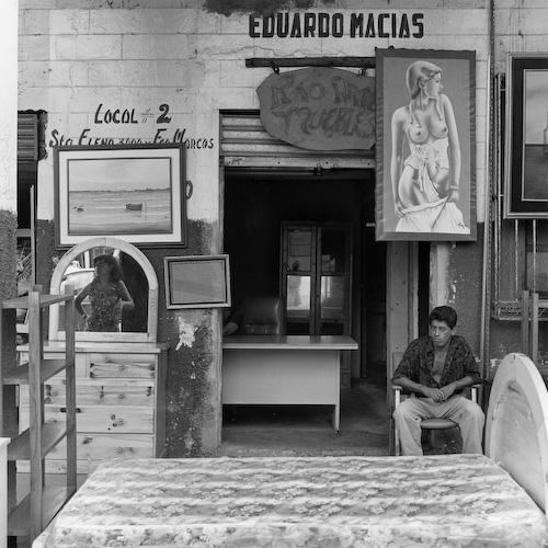 """""""Sueños eroticos"""", Guayaquil, Ecuador , 1997  Silver gelatin print.  16 x 20 inches (paper)"""