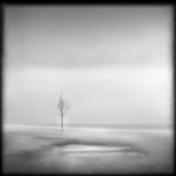 Lake Michigan, 6:52AM   Hand-varnished, archival pigment print.   16 x 16 inches