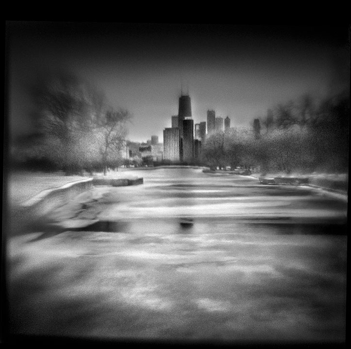 Lincoln Park, 10:23 AM   Hand-varnished, archival pigment print.   16 x 16 inches
