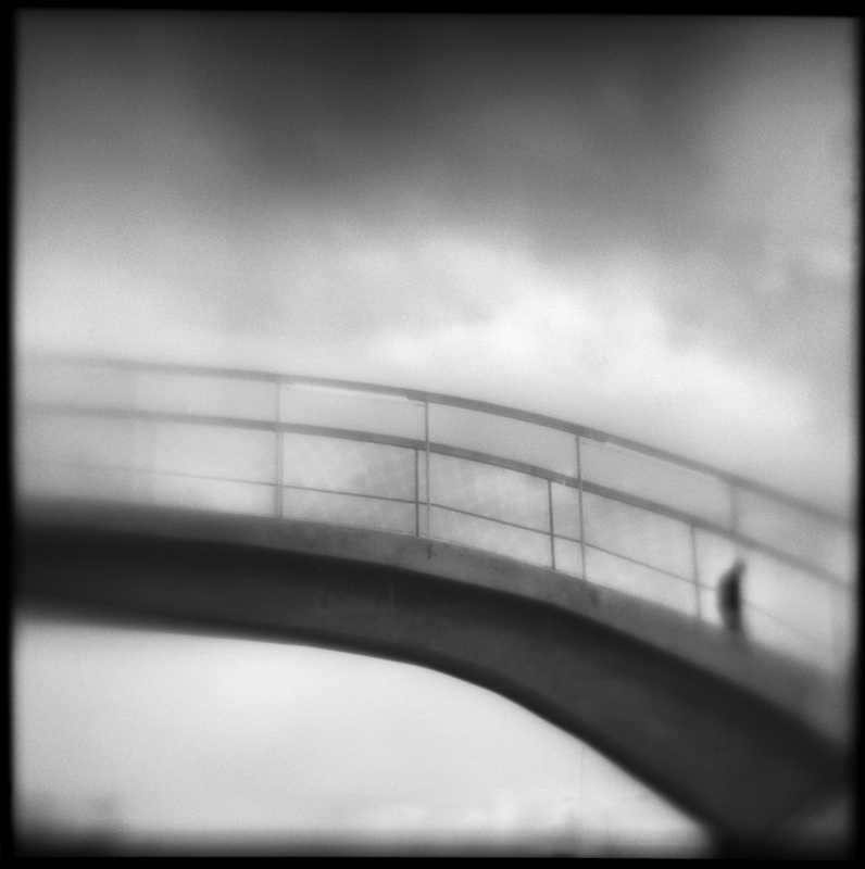 Bridge to Nowhere   Hand-varnished, archival pigment print.   16 x 16 inches