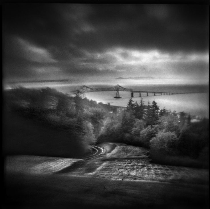 The Long Road Home   Hand-varnished, archival pigment print.   16 x 16 inches