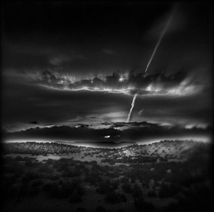 Last Light, Abiquiu   Hand-varnished, archival pigment print.   16 x 16 inches
