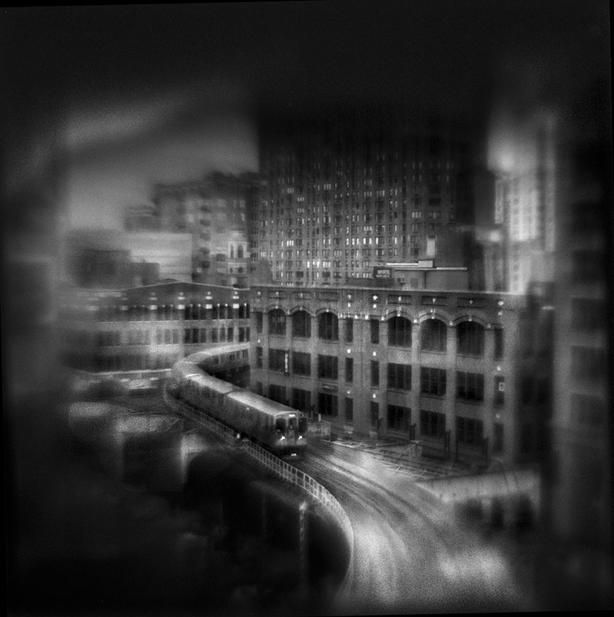 Hubbard & Wells, 9:18 AM   Hand-varnished, archival pigment print.   16 x 16 inches