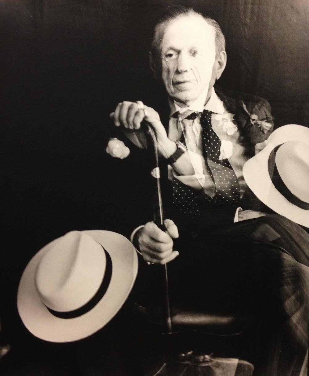 Portrait of Richard Harlan Blond (The World's Most Interesting Man) , 2012  Gelatin silver photograph.  23 3/4 x 19 inches