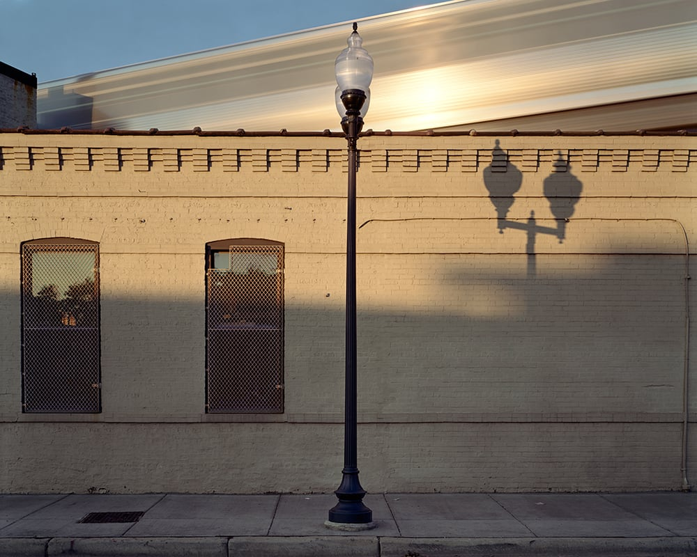 "Lightpole - Lincoln Avenue"" - Chicago, IL , 2000  Archival pigment print.    17 x 21.25 inches"