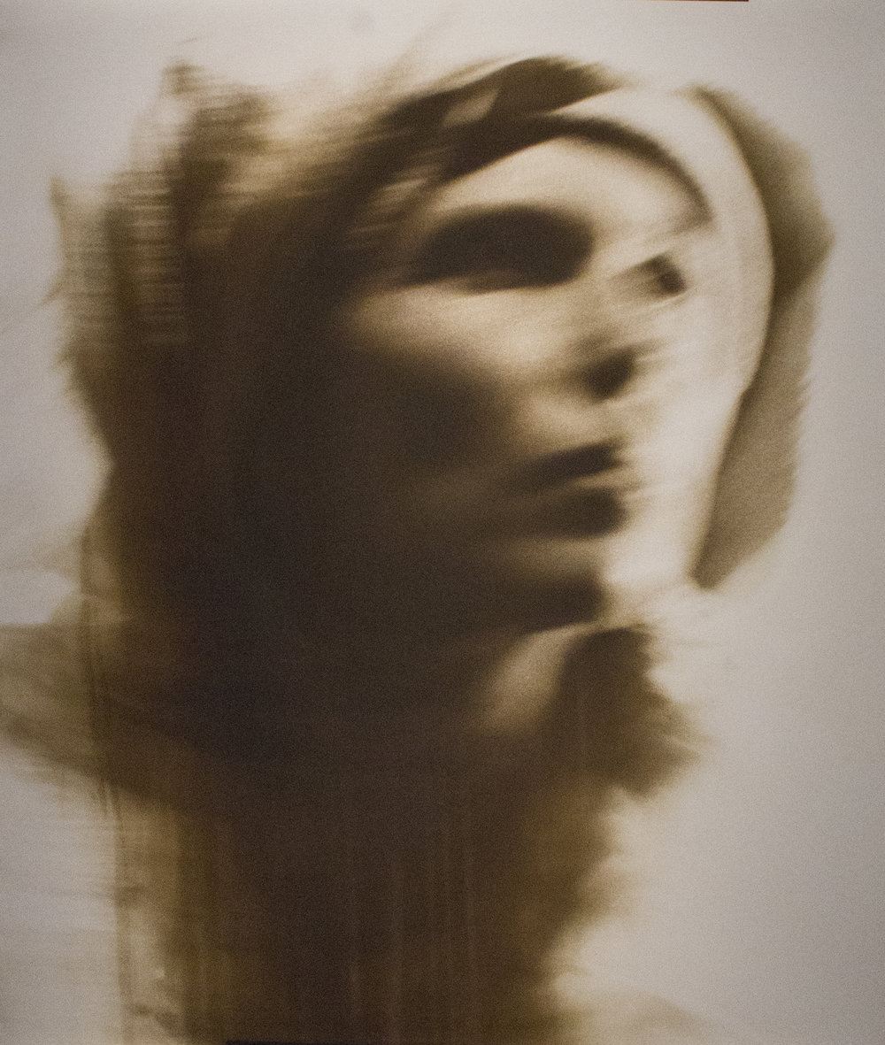 "Anne in Motion II,  2015  1/5 Unique Print  20x24""  $1600"
