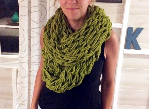 Arm Knitting Infinity Scarf Tuesday October 27th 7 9 Pm The