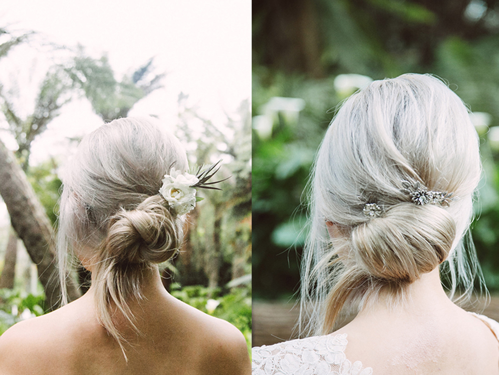 Bridal hair by Morphic