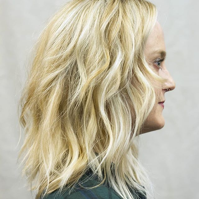 First up we have this gorgeous #fullbalayage. Our client Amy's bright blonde has subtle #lowlights to add depth and texture. It's a dreamy way to bring summer with you wherever you go. . . . #hairbymishi #morphic #morphicbeauty #balayage #hair #haircolor #hairstyle #haircut #blondehair #blonde #hairstyles #fashion #beauty #highlights #hairstylist #modernsalon #balayageombre #hairdresser #style #hairgoals #love #longhair #salon #babylights #instahair #color #hairoftheday