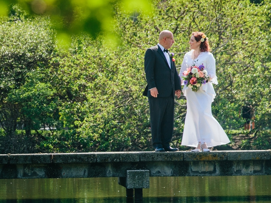 Michelle + Roger: North Pond Cafe