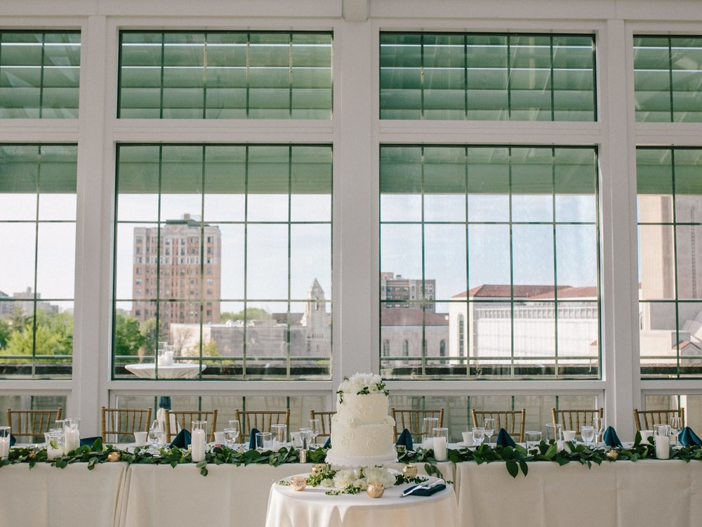 Keri + Anthony: Palm Court