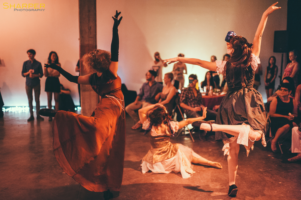 NunaMaana immersive dance theater performance in Austin Texas